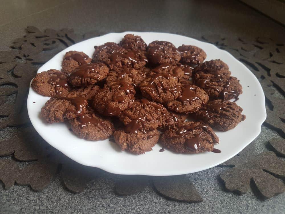 Čokoládovo-kokosové sušenky bez lepku